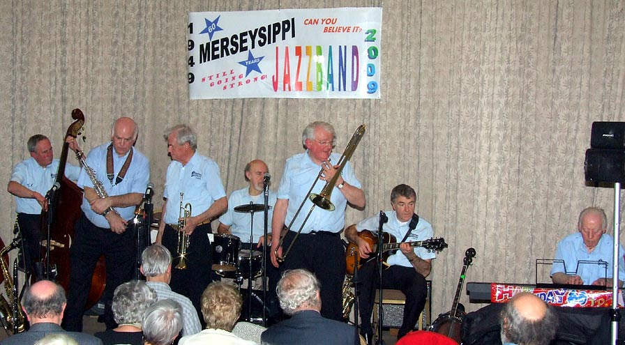 Merseysippi Jazz Band, The With Clinton Ford - Volume 4: Oh, You California